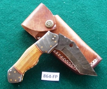 Product Number: 864- Hardwood & Damascus-FP