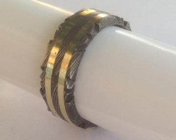 Product Number: Damascus Ring #4