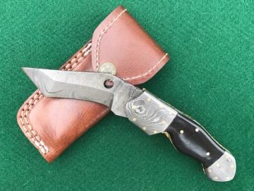 Product Number: 864- Bull horn & Damascus-FP